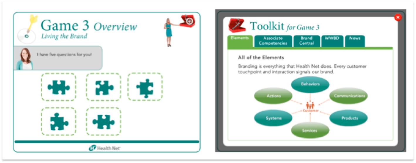 Health Net game screenshot
