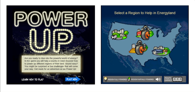 Power Up game screenshot