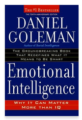 Book cover of Emotional Intelligence by Daniel Goleman