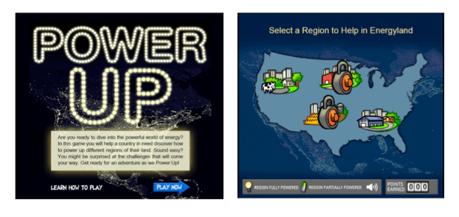 Power Up game screenshot